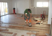 Hardwood floor installation Fremont