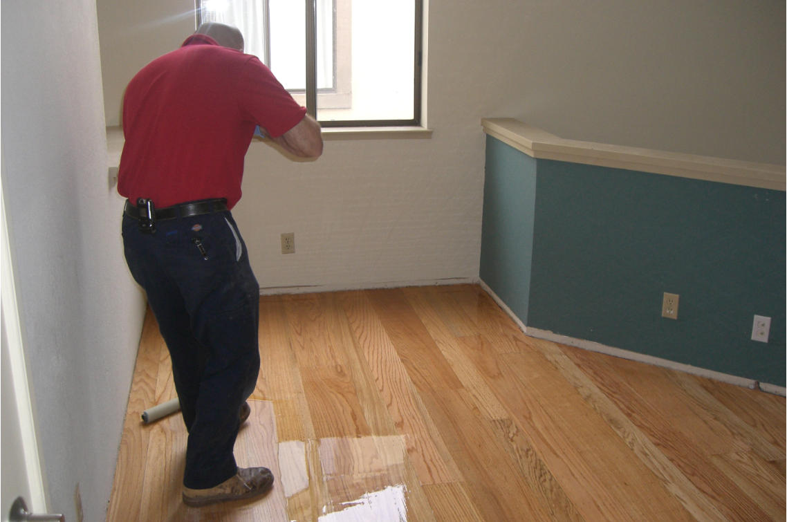 Refinishing hardwood floors near me